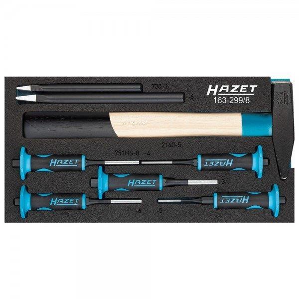 Hazet Splinttreiber-Satz 163-299/8 - Anzahl Werkzeuge: 8